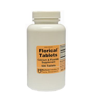 Florical Tablets (500 Count)